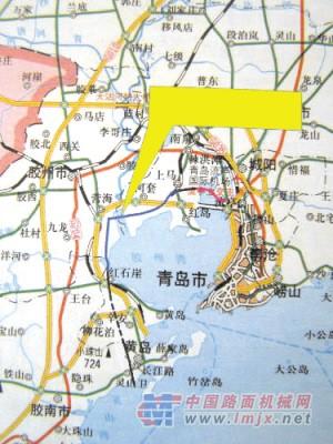 """湾大桥,海底隧道共同形成""""一桥一隧四环路""""的胶州湾区域主干道路交通"""